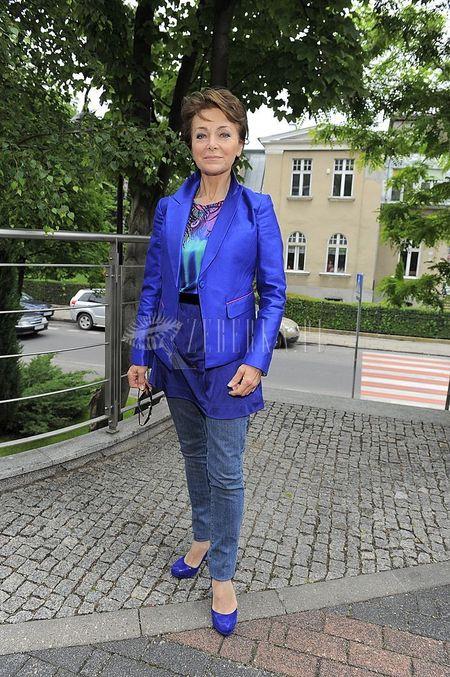 Irena Jarocka w strojach od Williamsona dla H&M