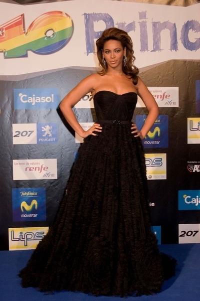 Beyonce w sukni Reem Acra