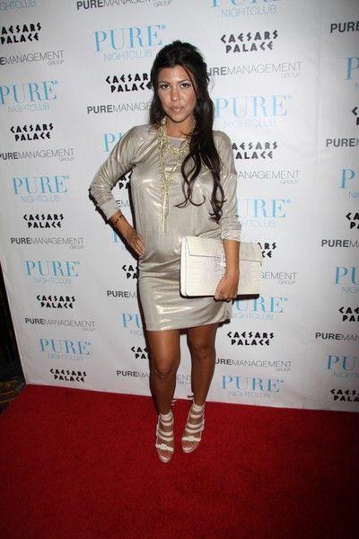 Kim i Kourtney Kardashian i ich stylowe sandałki