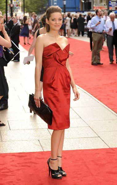 Marion Cotillard zachwyciła w czerwieni