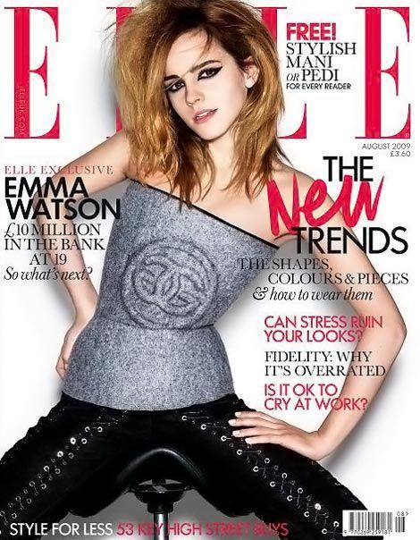 Emma Watson w drapieżnej wersji
