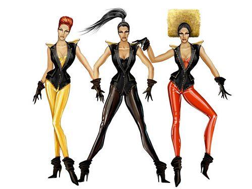 Beyonce zaprojektuje stroje w stylu Sashy Fierce