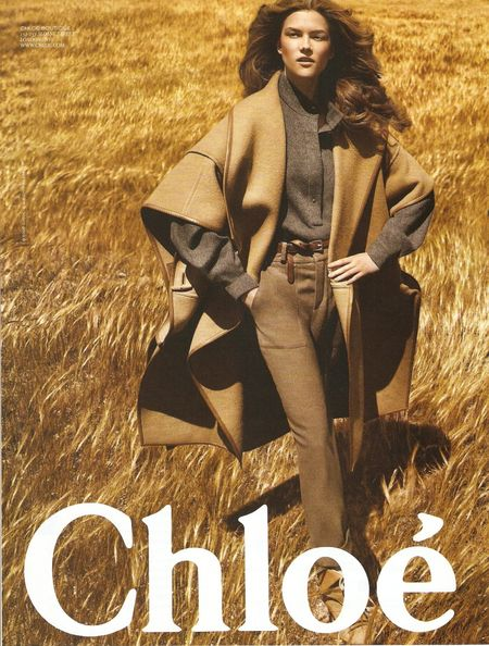 Kasia Struss w kampanii Chloe