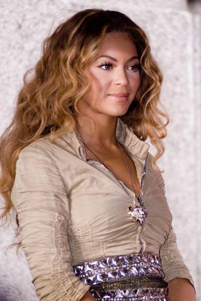 Beyonce w stylu safari