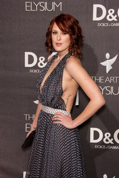 Rumer Willis w D&G