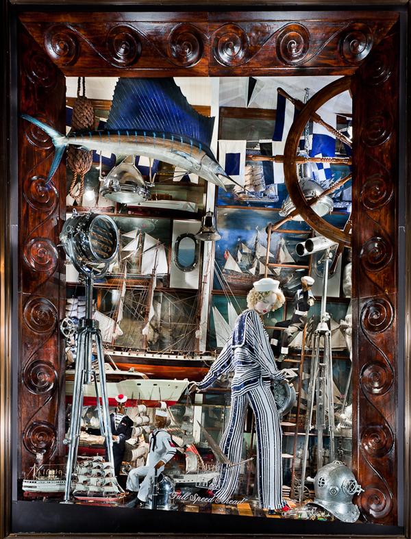 Witryny Bergdorf Goodman
