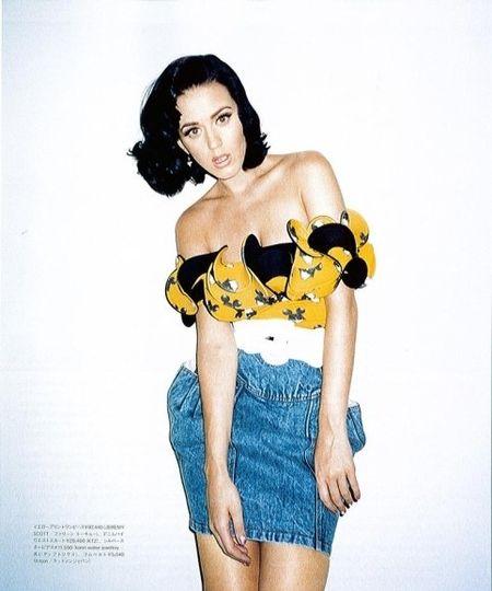 Katy Perry i jej bluzka w Myszką Miki