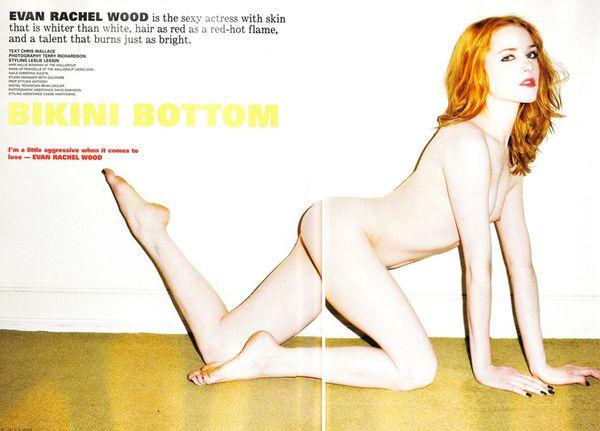 Evan Rachel Wood nago