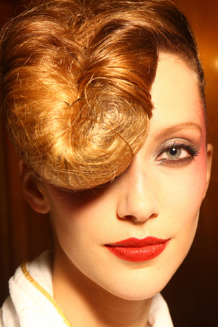 Makijaże na pokazie Lanvin