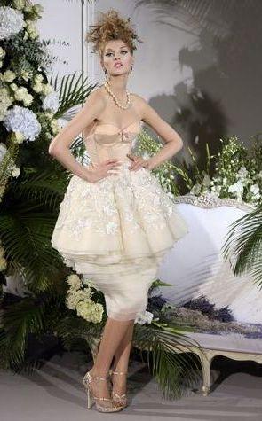 Dior haute couture jesień/zima 09/10