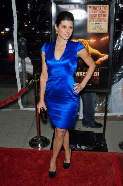 Marrisa Tomei na niebiesko