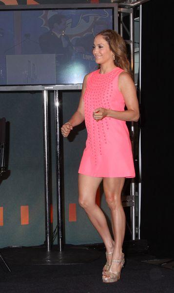Jennifer Lopez: Patrzcie na nogi!