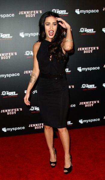 Megan Fox po gotycku