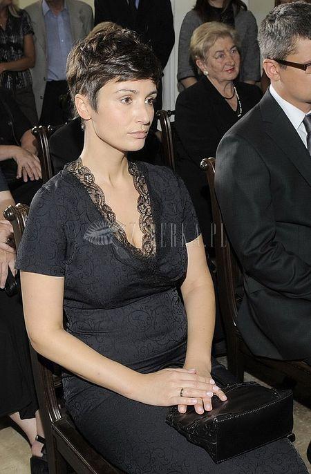 Joanna Brodzik dopracowała krótką fryzurkę