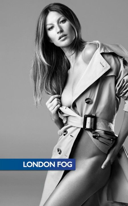 Gisele Bundchen promuje London Fog