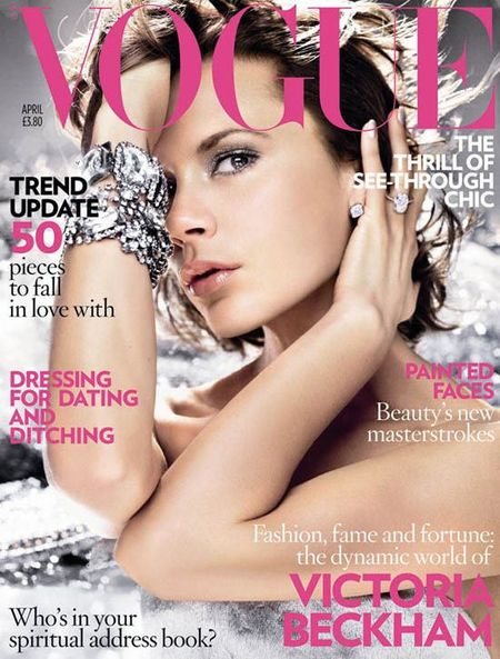 Victoria Beckham w październikowym Vogue'u?