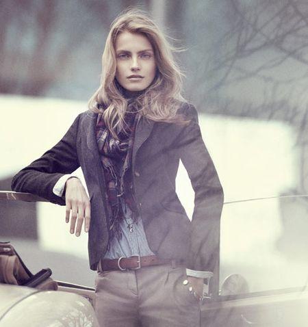 Ania Jagodzińska jesiennie
