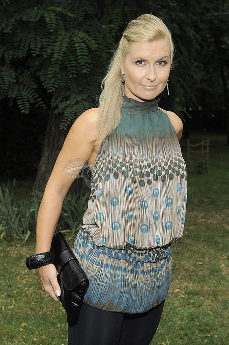 Katarzyna Skrzynecka w legginsach