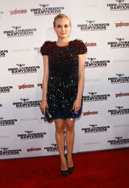 Diane Kruger i jej plecy w całej okazałości