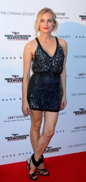Diane Kruger w cekinach