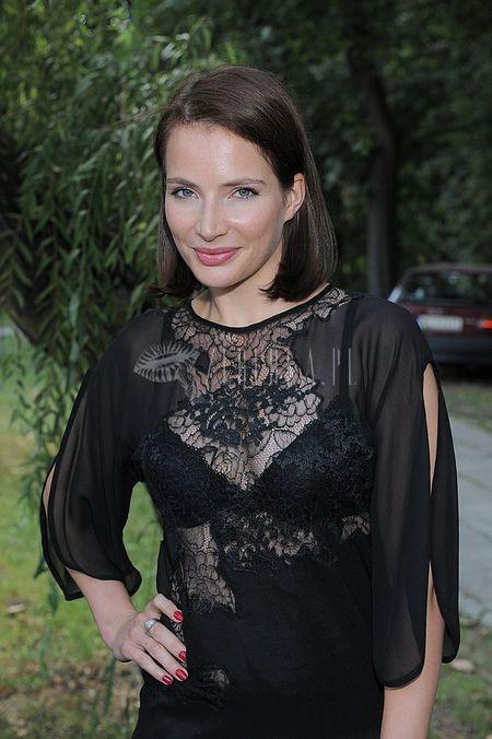 Anna Dereszowska w seksownych koronkach