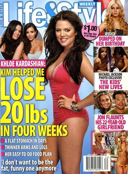 Khloe Kardashian schudła 10 kilo
