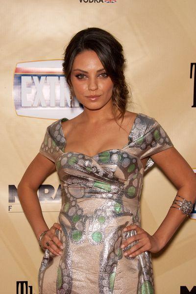 Mila Kunis w sukience od Williamsona