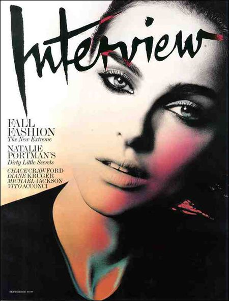 """Tajemnicza Natalie Portman na okładce """"Interview"""""""