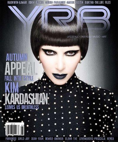 Kim Kardashian w mrocznej wersji
