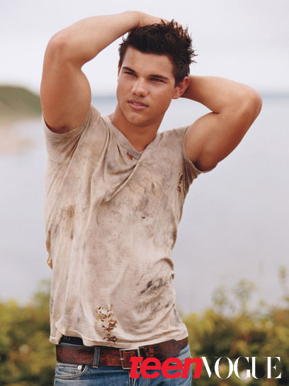 Taylor Lautner w magazynie Teen Vogue