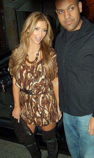 Kim Kardashian w kolorach jesieni