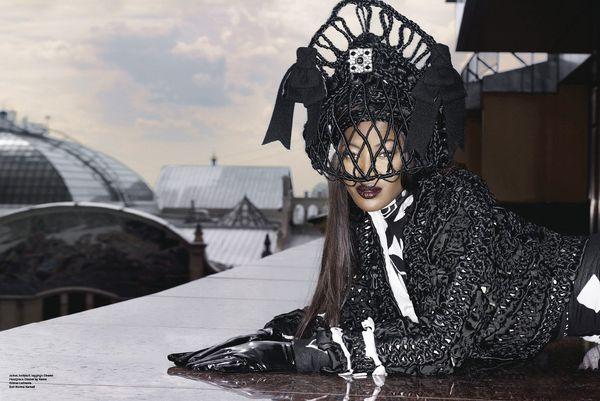 Naomi Campbell po rosyjsku