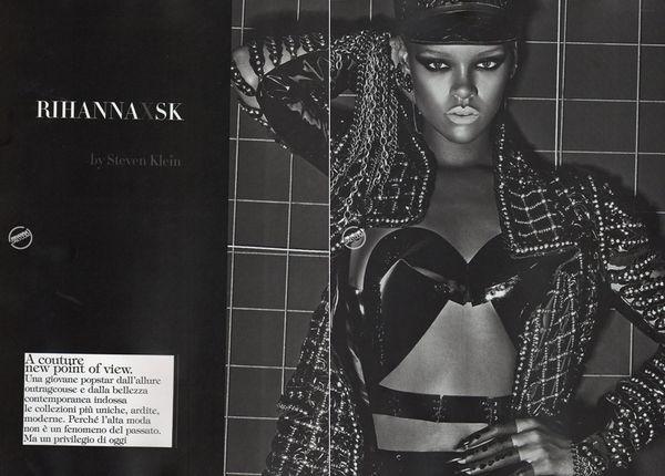 Rihanna w sesji dla Vogue'a
