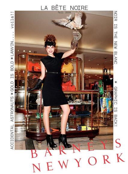 Anja Rubik w katalogu Barneys