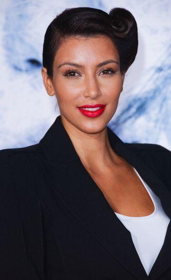 Kim Kardashian znowu jako brunetka