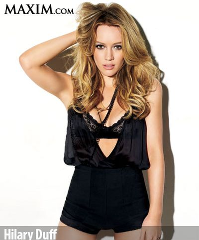 "Hilary Duff w ""Maximie"""