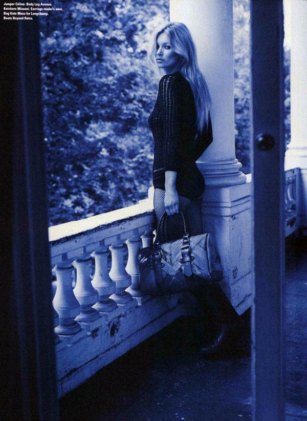 Kate Moss w i-D Magazine