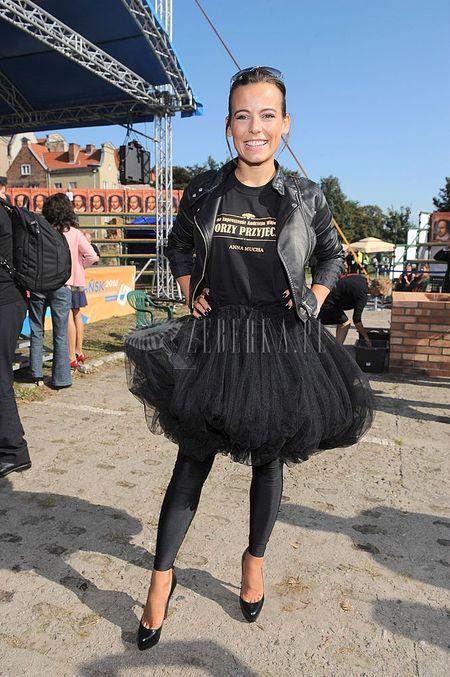 Anna Mucha jako rockowa baletnica