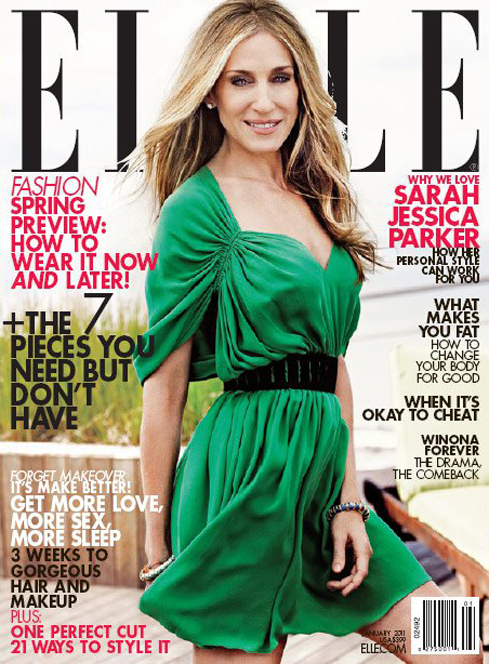 Sarah Jessica Parker w Elle
