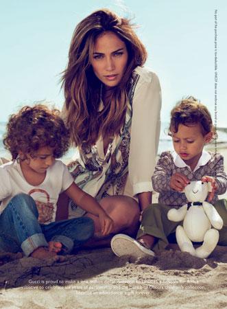 Dzieci Jennifer Lopez dla Gucci