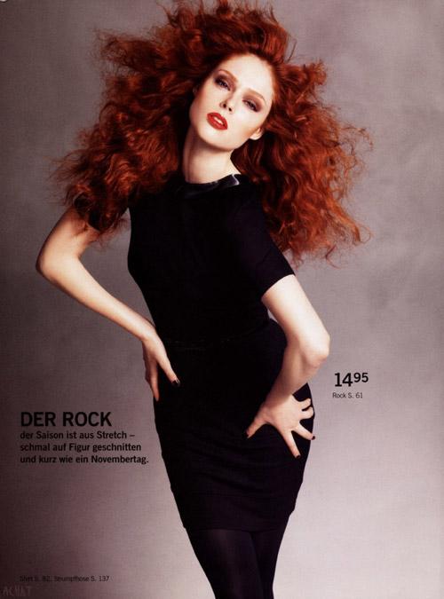 Coco Rocha w jesiennym katalogu H&M