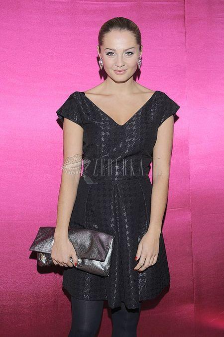 Małgorzata Socha – elegantka w czerni