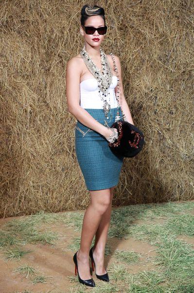 Rihanna cała w Chanel