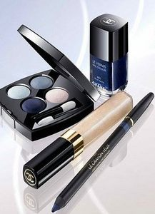chanel aurora blues makeup