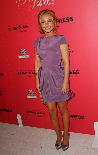 Hayden Panettiere w kolorze lawendy