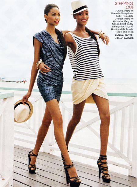 Jourdan Dunn i Chanel Iman dla Teen Vogue'a