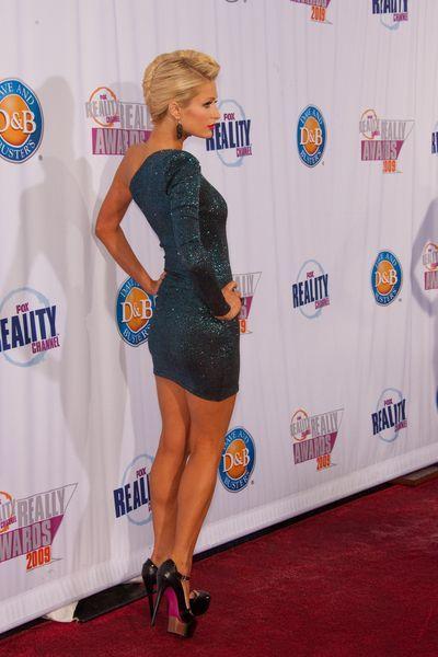 Paris Hilton w seksownej mini