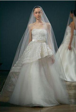 Suknie ślubne od Monique Lhuillier