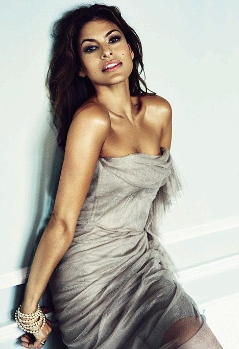 Eva Mendes w Marie Claire