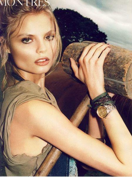 Magdalena Frąckowiak w Vogue'u